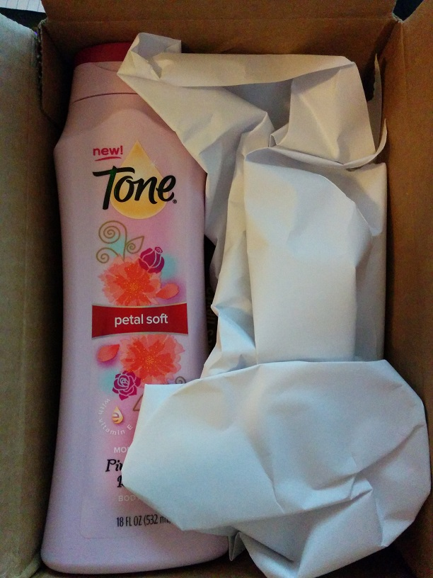 Tone Body Wash - received from BzzAgent