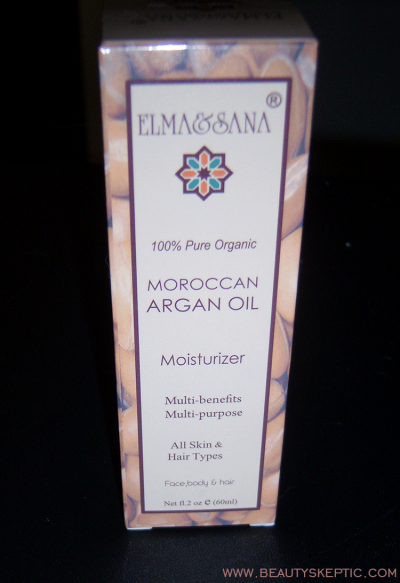 Elma and Sana Argan Oil