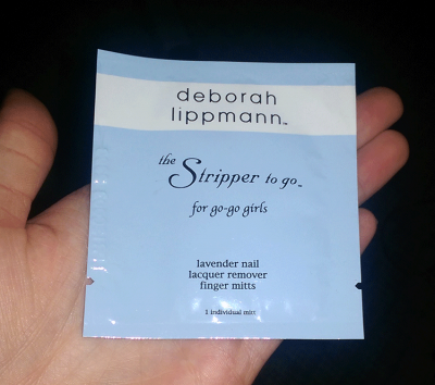 Deborah Lippmann The Stripper To Go Foil Packet