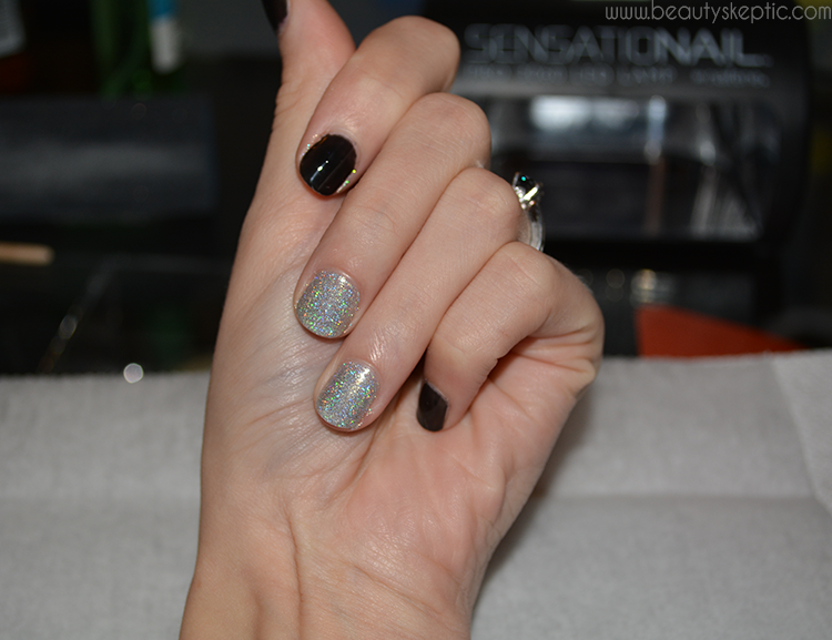 Holographic Glitter Gel Nails (aka Rockstar Nails) » Beauty Skeptic