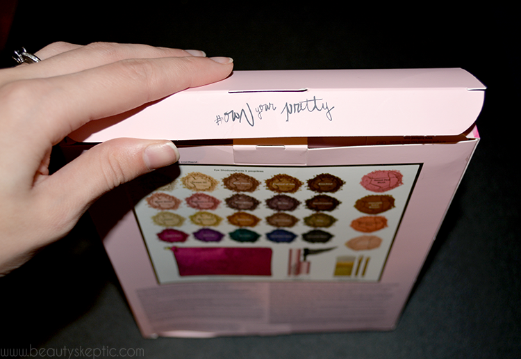 Too Faced Everything Nice Palette - Unboxing 1 - #ownyourpretty