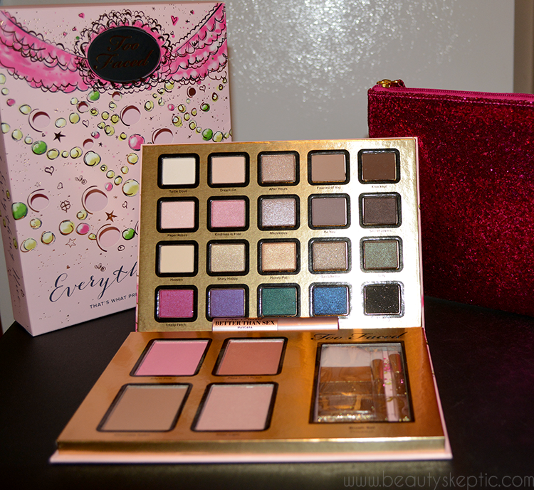 Too Faced Everything Nice Palette - All Unboxed