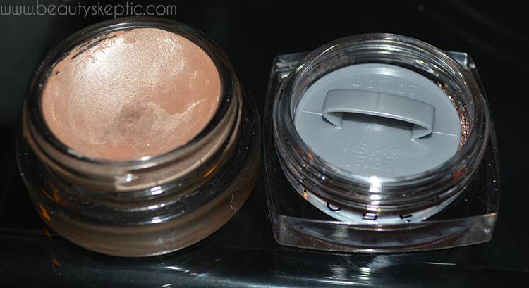 L'Oreal and Maybelline Gel Shadows - Open 1