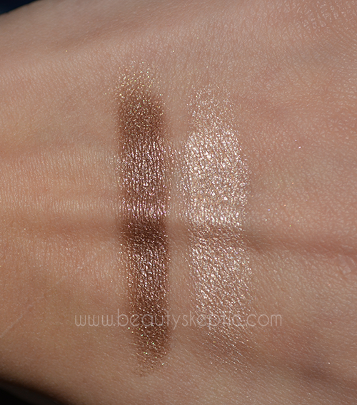 L'Oreal and Maybelline Gel Shadows - Swatches