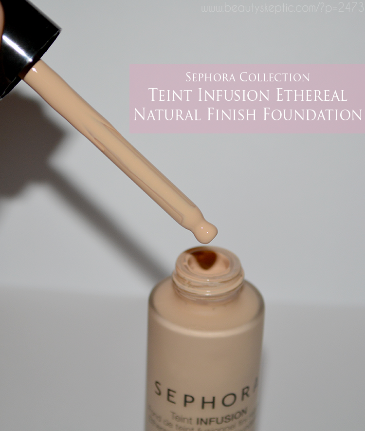 Sephora Teint Infusion Natural Finish - Dropper