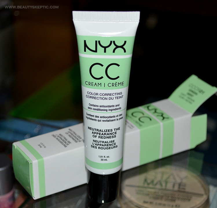 NYX Green CC Cream - Unboxed