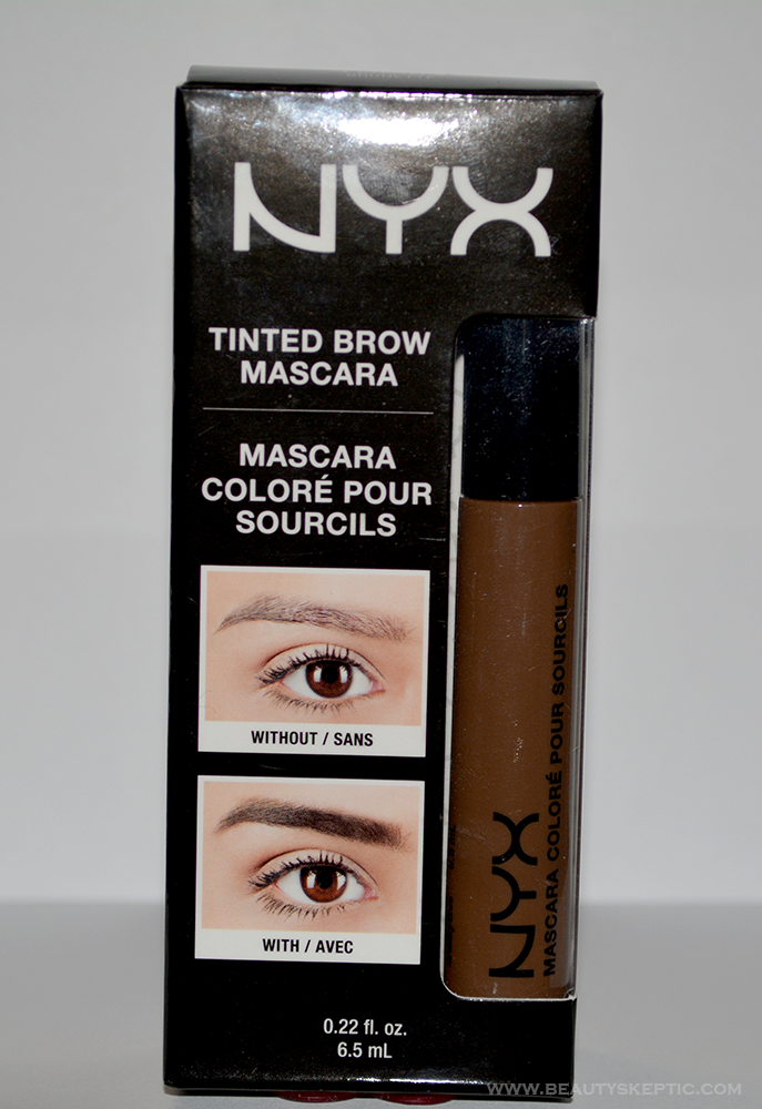 NYX Tinted Brow Mascara - Packaging
