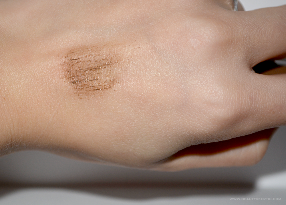 NYX Tinted Brow Mascara - Hand Swatch