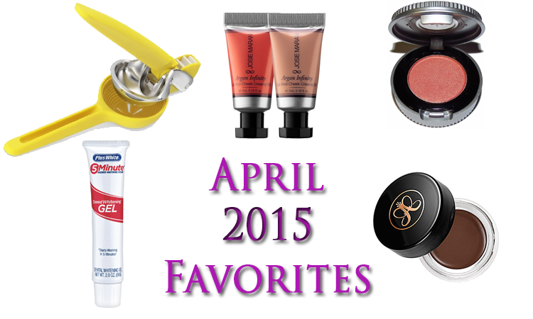 April 2015 Favorites