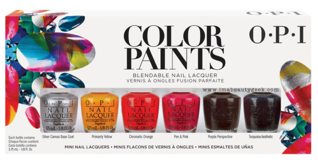 OPI Color Paints Minis
