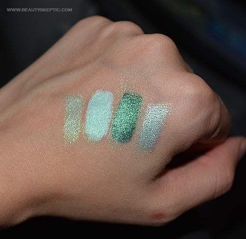 NYX Prismatic Mermaid - Swatches