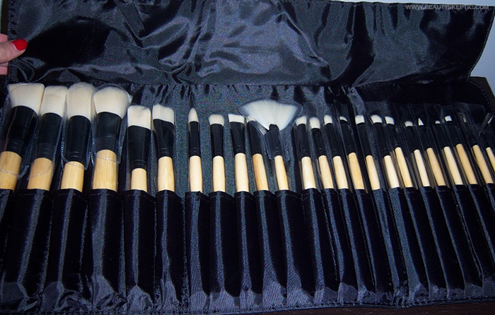 coastal scents brushes. coastal scents elite brush set brushes p