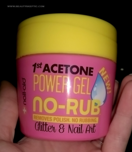 1st Acetone Power Gel