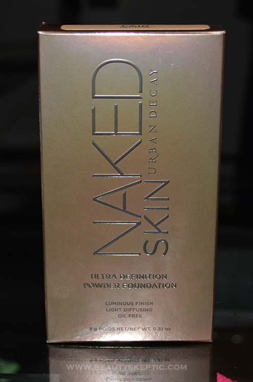 Naked Skin Ultra Definition - First Look - Box