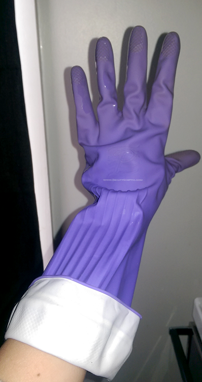 Maximize your Manicure with dish gloves