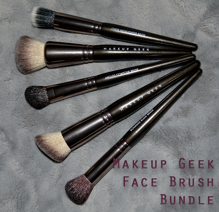 Makeup Geek Face Brush Bundle