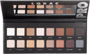 Lorac PRO Palettes, Compared
