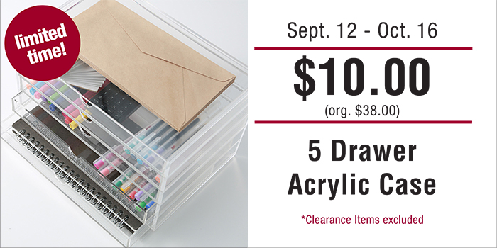 Muji Drawer Sale