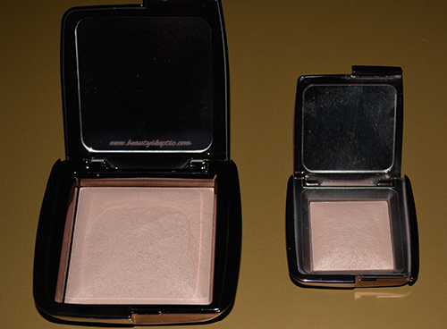 Hourglass Ambient Lighting Powder Full vs Travel