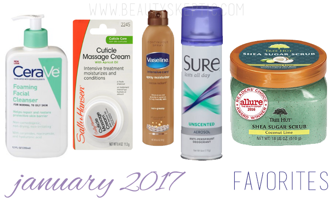 January 2017 Favorites