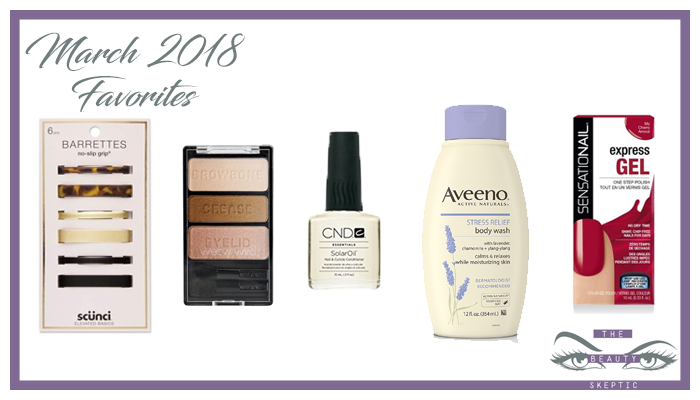 March 2018 Favorites